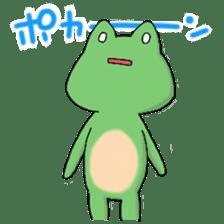 Frog KEROYAN Sticker -BASIC- sticker #9391514