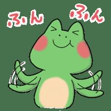 Frog KEROYAN Sticker -BASIC- sticker #9391519