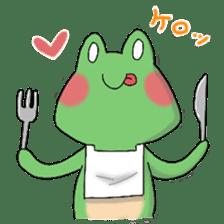 Frog KEROYAN Sticker -BASIC- sticker #9391522