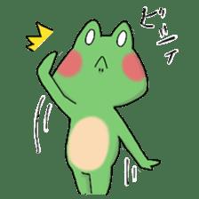 Frog KEROYAN Sticker -BASIC- sticker #9391524