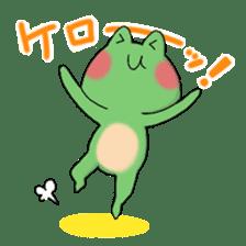 Frog KEROYAN Sticker -BASIC- sticker #9391525
