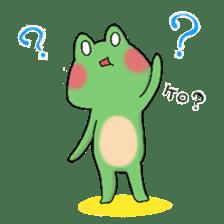 Frog KEROYAN Sticker -BASIC- sticker #9391531