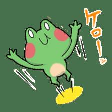 Frog KEROYAN Sticker -BASIC- sticker #9391535