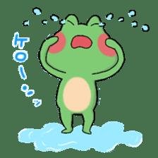 Frog KEROYAN Sticker -BASIC- sticker #9391536