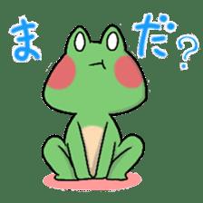 Frog KEROYAN Sticker -BASIC- sticker #9391537
