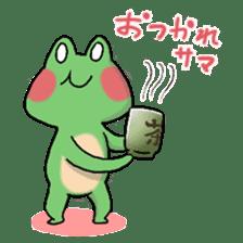 Frog KEROYAN Sticker -BASIC- sticker #9391540