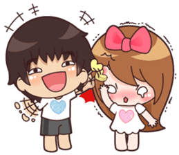My Valentine(EN) sticker #9393683