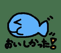 Kawaii Fish (Sakana) sticker #9395313
