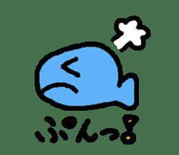 Kawaii Fish (Sakana) sticker #9395320