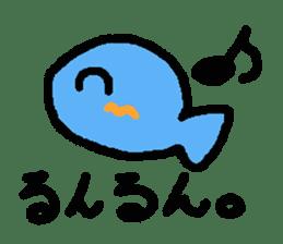 Kawaii Fish (Sakana) sticker #9395323