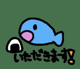 Kawaii Fish (Sakana) sticker #9395330