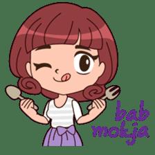 Cute Korean Girl sticker #9403969
