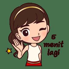 Cewek Bingung sticker #9407504