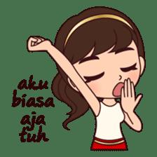 Cewek Bingung sticker #9407506