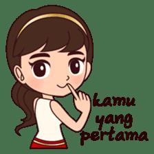 Cewek Bingung sticker #9407533