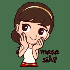 Cewek Bingung sticker #9407534