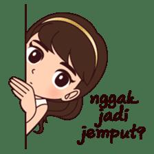 Cewek Bingung sticker #9407536