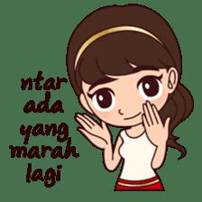 Cewek Bingung sticker #9407538