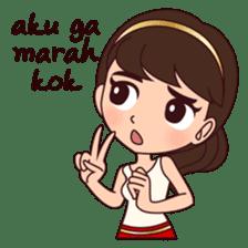 Cewek Bingung sticker #9407540