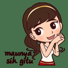 Cewek Bingung sticker #9407542