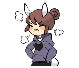 Daily life of Chu and Kun sticker #9408747