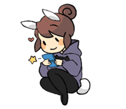 Daily life of Chu and Kun sticker #9408756