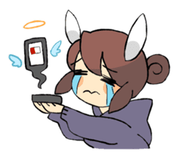 Daily life of Chu and Kun sticker #9408762