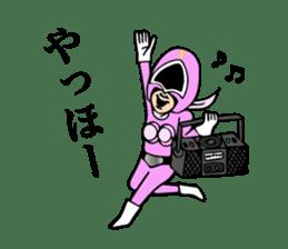 cross fm DENKATSU-GER! sticker #9410128