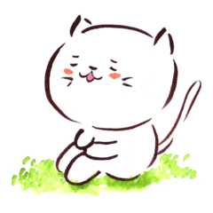 The paintbrush cat Mayu