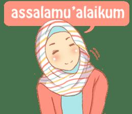 sister's hijab diary sticker #9414304