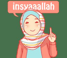 sister's hijab diary sticker #9414307