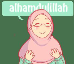 sister's hijab diary sticker #9414308