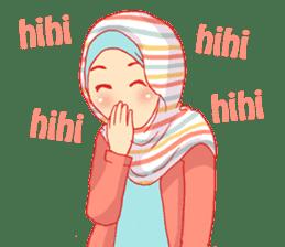 sister's hijab diary sticker #9414309