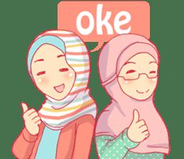 sister's hijab diary sticker #9414310