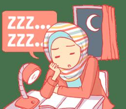sister's hijab diary sticker #9414312