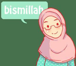 sister's hijab diary sticker #9414314