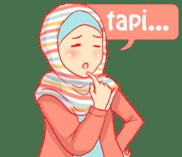 sister's hijab diary sticker #9414316