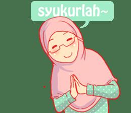 sister's hijab diary sticker #9414318