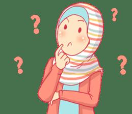 sister's hijab diary sticker #9414324