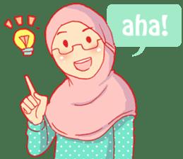 sister's hijab diary sticker #9414327