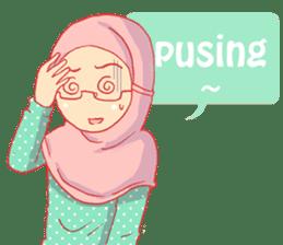 sister's hijab diary sticker #9414330