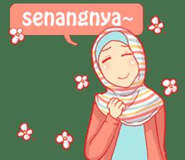 sister's hijab diary sticker #9414331
