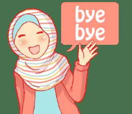 sister's hijab diary sticker #9414332