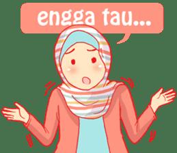 sister's hijab diary sticker #9414335