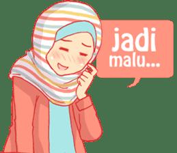 sister's hijab diary sticker #9414336