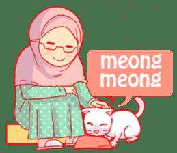 sister's hijab diary sticker #9414338