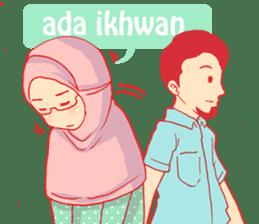 sister's hijab diary sticker #9414339