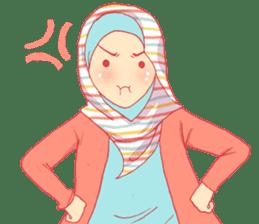 sister's hijab diary sticker #9414341