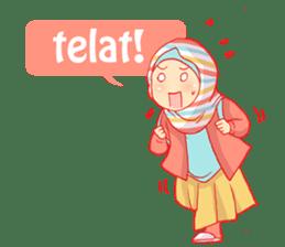 sister's hijab diary sticker #9414342