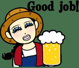 Ms.Cosplay~I'm Happy~ sticker #9420131